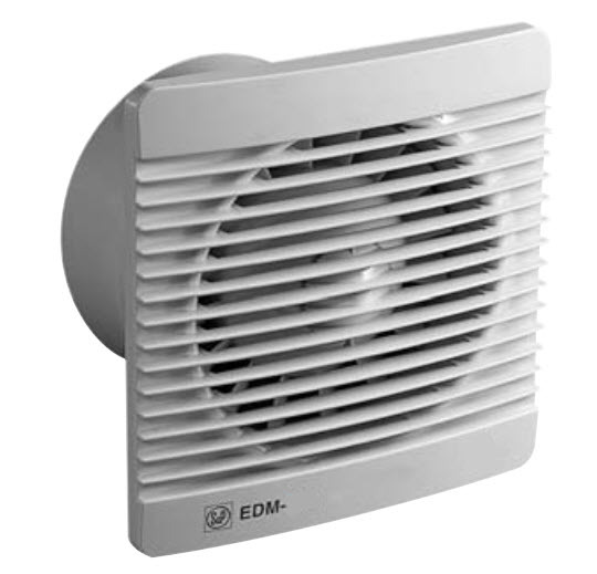 Fantech Edm 100s 100mm Wall Ceiling Mounted Exhaust Fan