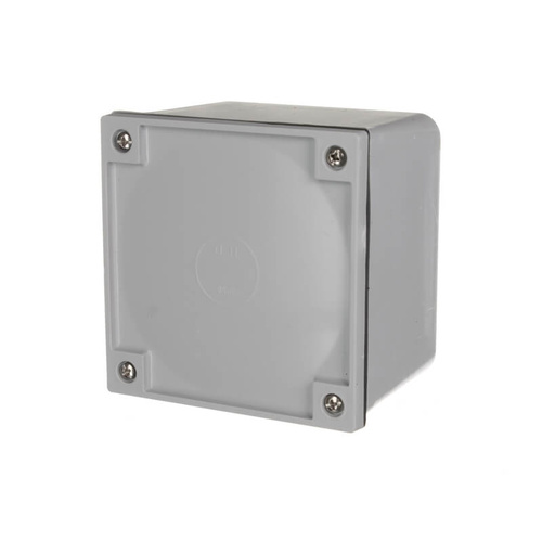 nls adaptable box 108mm x 108mm x 76mm   clipsal style