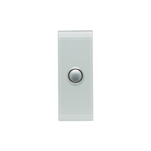 CLIPSAL SATURN 4061ALOM | 1 Gang Pushbutton LED Architrave Switch (Ocean Mist) 4061AL