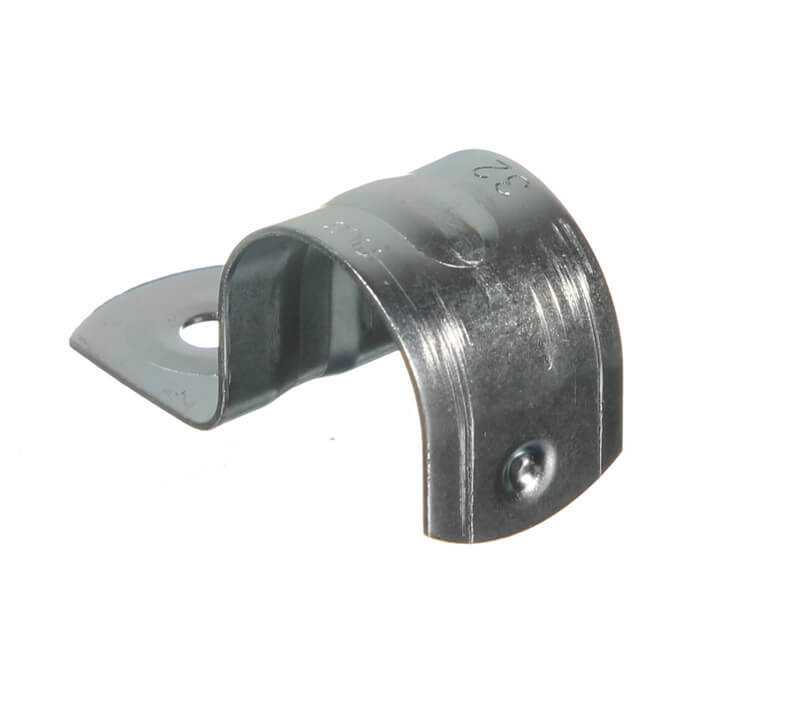 NLS 30014 | 32mm Half Saddle Zinc Plated 6.5mm Hole | 50 Pack main image