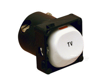 30TM Switch, 2-Way, 250VAC, 10A, TV, White Electric main image