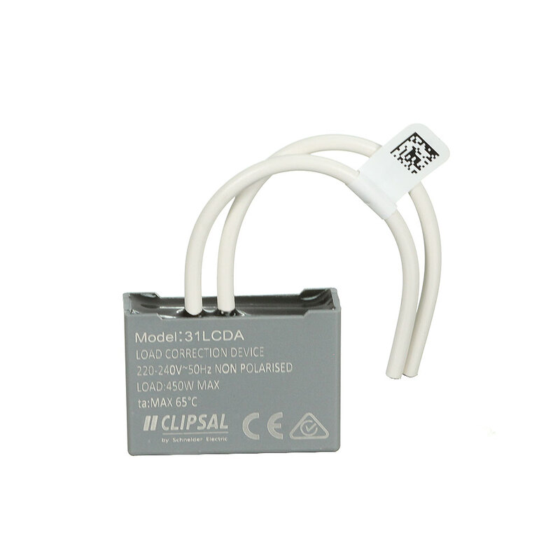 clipsal 31lcda load correction device for enhanced dimming of led  u0026 cfl lighting