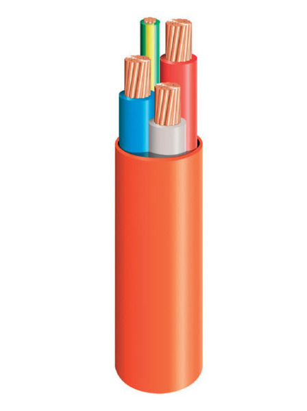 2.5mm Orange Circular Cable | 3 core & earth 100mtr main image
