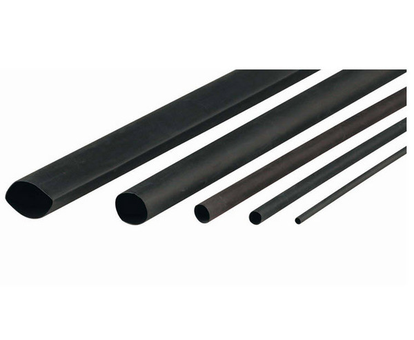 Cabac Heat Shrink BLACK 3.2mm - 1.6mm 1.2mtr | XLP3-BK/4FT main image