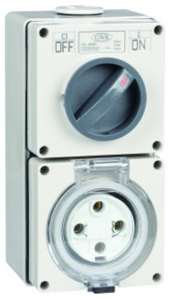 IP66 4 Pin Industrial Outlets and Sockets image