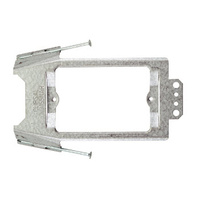 CLIPSAL 155NAR | Horizontal Recessed Metal Mounting Bracket - with Fixing Nails