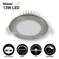 Downlight 13w Satin Nickel 3000K  LED| Dimmable | 20171