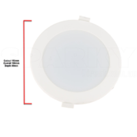 NLS 20405 | 20w Tri Colour LED Dimmable Downlight 1800-1900lm 150mm Cut Out
