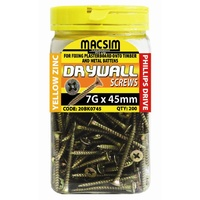 Drywall Buglehead Screws 7G x 45mm | 200 Bottle Pack | 20BK0745