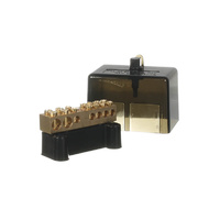 7 Hole Neutral Link Black Housing | 30038