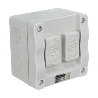 Double Weatherproof Switch 16A 250v (IP66 Rated) | 30172