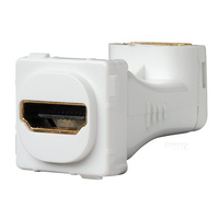 CLIPSAL 30HDMIA | HDMI Angled Mechanism White (30 Series) 30HDMIAWE
