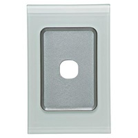 CLIPSAL SATURN 4031VHOM | 1 Gang 30 Series Grid And Surround (Ocean Mist) 4031VH