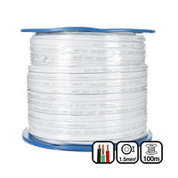 1.5mm Twin & Earth Flat Cable | Pvc / Pvc 100mtrs