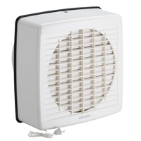 Airflow 7107A | Window Exhaust Fan, Axial, 200mm, Pull-Cord Switch