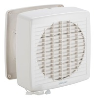 Airflow 7108A | Wall Exhaust Fan, Axial, 200mm, Pull-Cord Switch