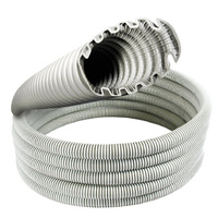 CLIPSAL TURBO 9025TCM10 | 25mm Medium Duty Corrugated Conduit Grey 10m