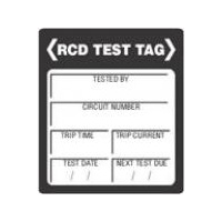 RCD Test Sticker 100 Pack | RCDTT