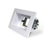 Recessed Wall Box 1 Gang White |RECWP1WH