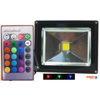 20W RGB Colour Changing LED FLOODLIGHT 240V | VBLFL-833-4C