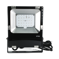 30W RGB Colour Changing LED FLOODLIGHT 240V | VBLFL-834-4-C