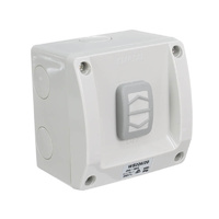 Clipsal WS226/20RG | Single Weatherproof Switch 20A 250v (IP56 Rated) M rating 100 WS226/20RG