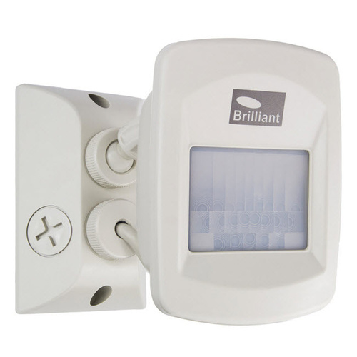 Brilliant 18562/09 | Flexiscan PIR Sensor IP66 3 wire 110 Deg