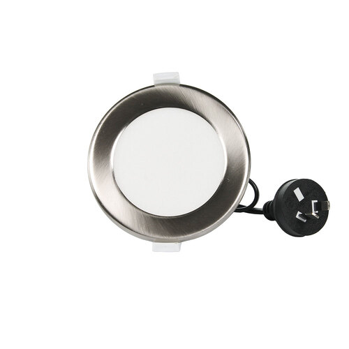 NLS 20111SILV | 10W Tri Colour LED Downlight Dimmable 950lm Silver Trim main image