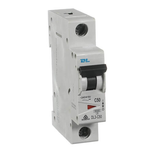 NLS 50 Amp 6KA | 50 amp Single Pole 6kA Circuit Breaker 30442NLS