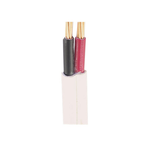 2.5mm Twin Flat Red & Black Cable | Pvc / Pvc 100mtrs