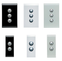 Clipsal Saturn Light Switches