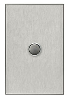 Clipsal Saturn Range Horizon Silver Light Switches including Mechanisms