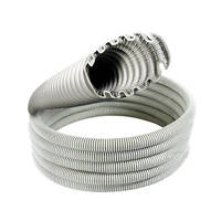 CORRUGATED CONDUIT - Clipsal Turbo conduit, Grey corrugated conduit and Orange Corro
