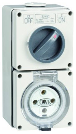 IP66 5 Pin Industrial Outlets and Sockets