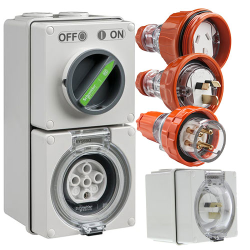 Clipsal Easy56 | Industrial Outlets & Sockets