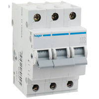 Hager Circuit Breakers Three Pole